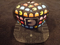 Pac-Man Icon Maze Youth Sized Snap Back Hat