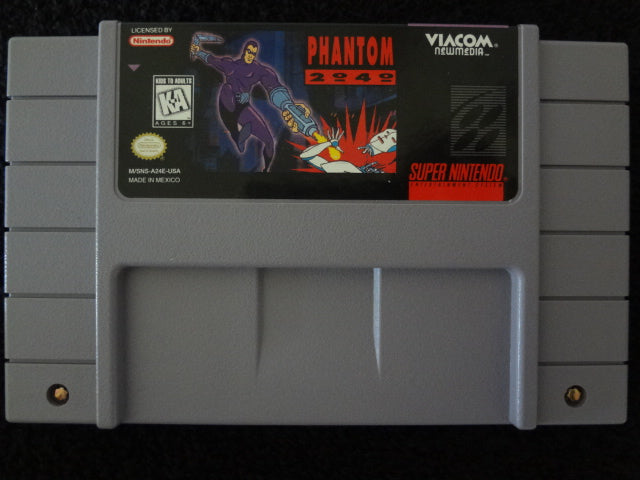 Phantom 2040 Super Nintendo