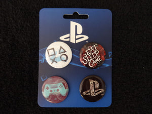 PlayStation Button Style Pin Set Of 4