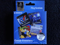 Playstation Game Cover Drink Coasters