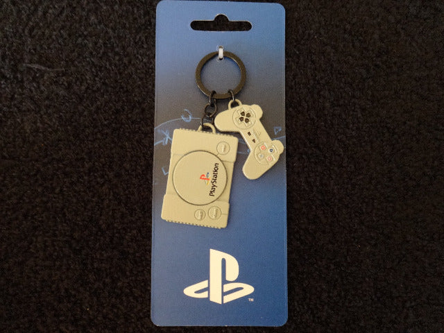 PlayStation Metal Charm KeyChain
