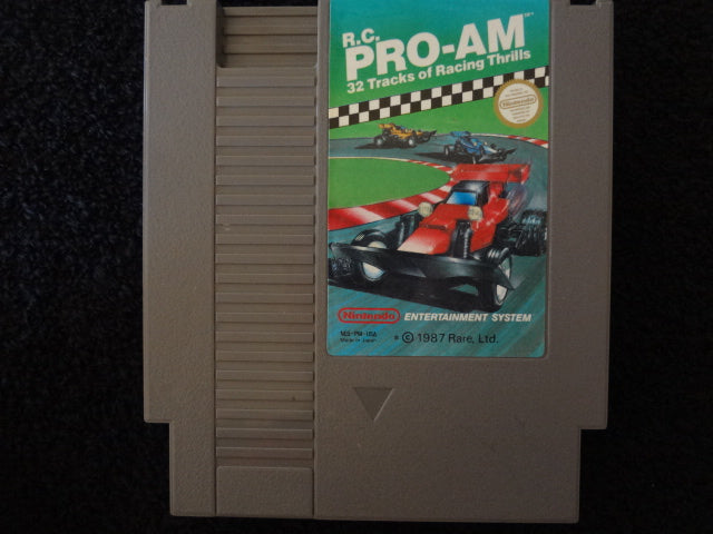 RC Pro-Am Nintendo Entertainment System