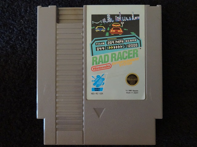 Rad Racer Nintendo Entertainment System