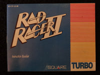Rad Racer II Instruction Booklet Nintendo Entertainment System NES