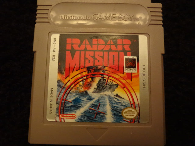 Radar Mission Nintendo GameBoy
