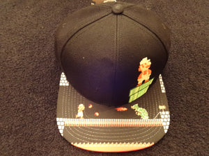 Super Mario Bros. 8Bit Fire Mario Pipe SnapBack Hat