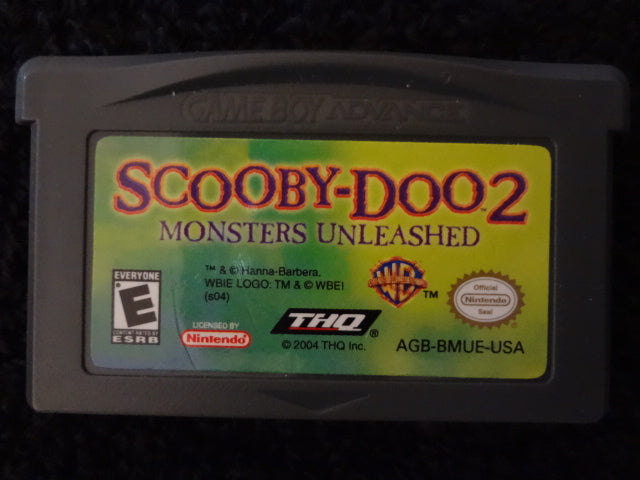 Scooby-Doo 2 Monsters Unleashed Nintendo GameBoy Color