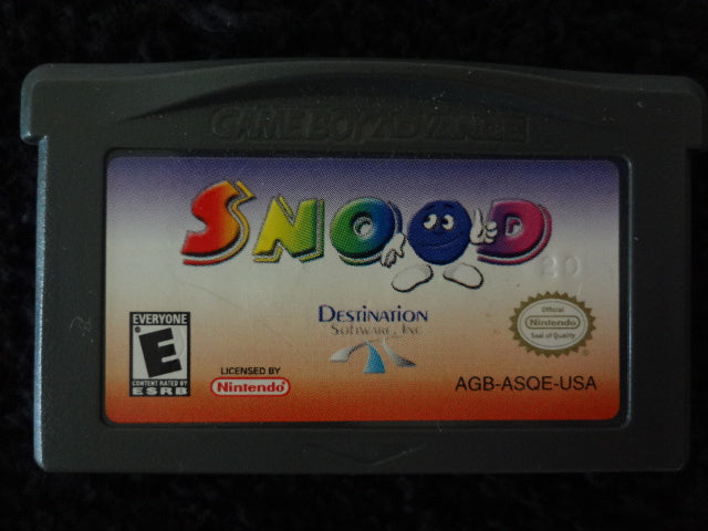 Snood Nintendo GameBoy Advance