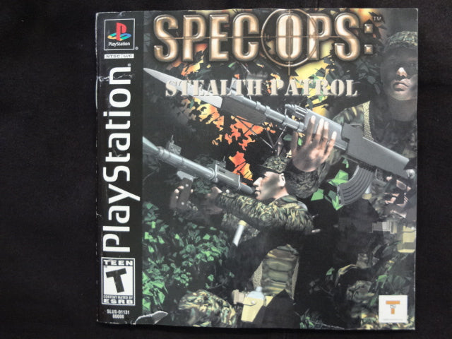 Spec Ops Stealth Patrol PlayStation 1
