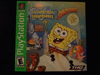 SpongeBox Squarepants Supersponge Sony PlayStation