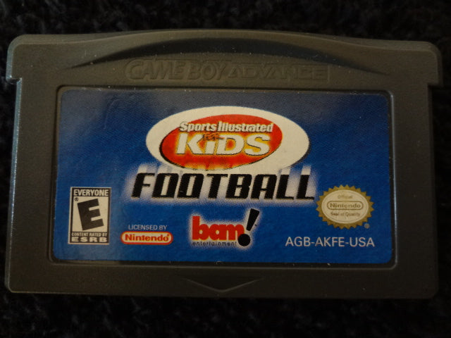 Sports Illustrated Kids Football Nintendo GameBoy Advance