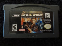Star Wars Episode II Attach of the Clones Nintendo GameBoy Advance