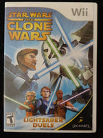 Star Wars The Clone Wars Lightsaber Duels Nintendo Wii