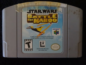 Star Wars Episode I Battle for Naboo Nintendo 64