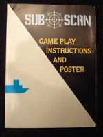 Sub Scan Instruction Booklet Atari 2600
