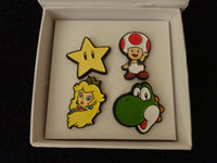 Super Mario Pin Set in Gift Box