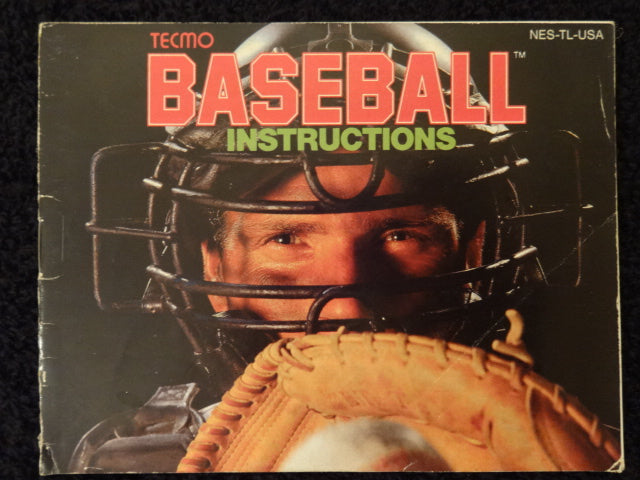 Tecmo Baseball Nintendo Entertainment System