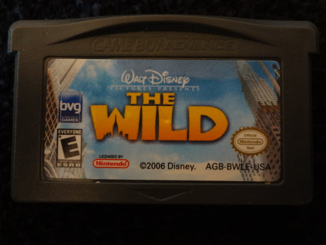The Wild Nintendo GameBoy Advance