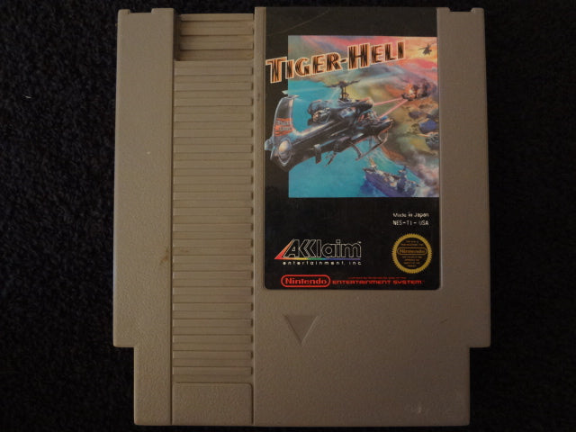 Tiger-Heli Nintendo Entertainment System