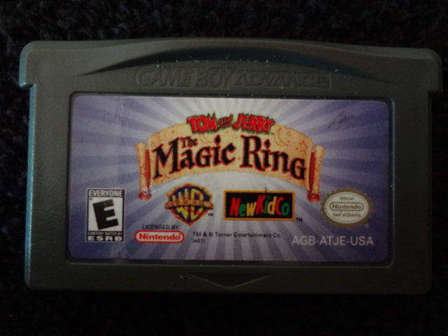 Tom And Jerry The Magical Ring Nintendo GameBoy Advance