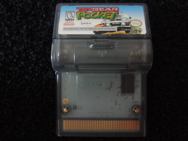 Top Gear Pocket Nintendo GameBoy Color