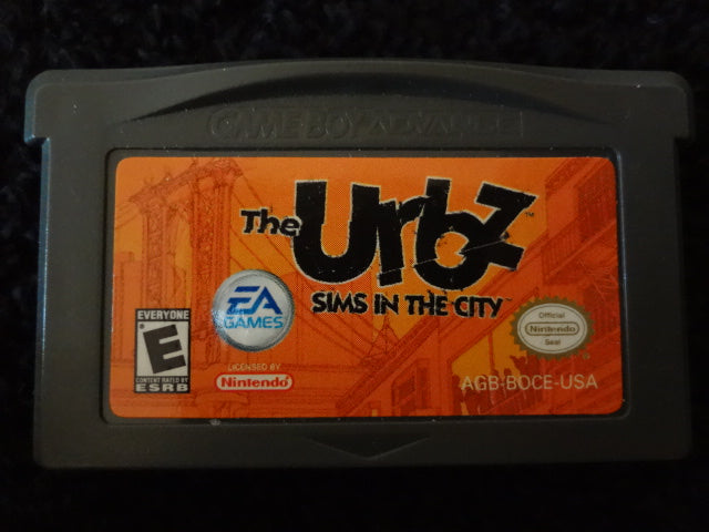 Urbs Sims In The City Nintendo GameBoy Advance