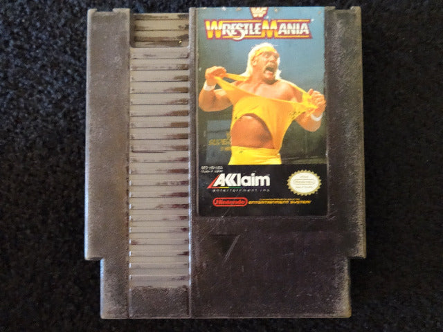 WWF Wrestlemania Nintendo Entertainment System