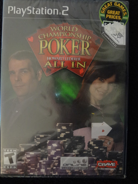 World Championshi Poker All In Sony PlayStation 2