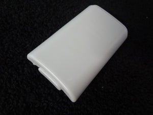 Microsoft Xbox 360 White Battery Cover Replacement