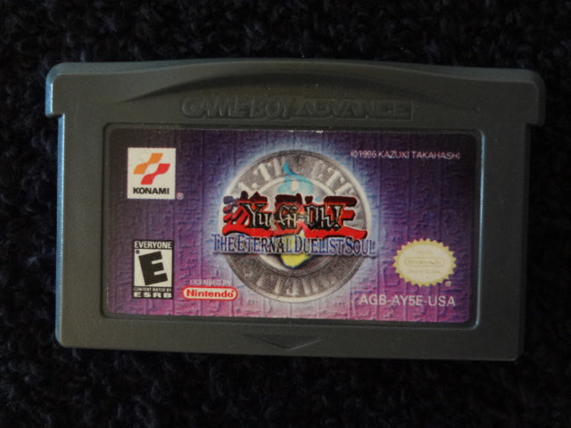 Yu-Gi-Oh The Eternal Dualist Soul Nintendo GameBoy Advance