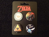 Zelda Button Set