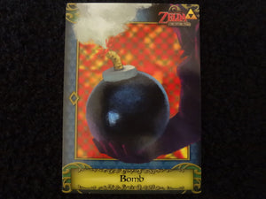 Bomb Zelda Collectors Card 85
