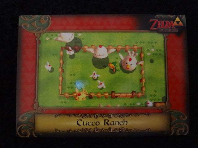 Cucco Ranch Zelda Collectors Card 87