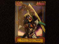 Fierce Diety's Mask Zelda Collectors Card 31