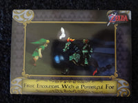 First Encounter With A Powerful Foe Zelda Collectors Card 16