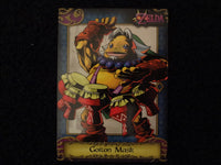 Goron Mask Zelda Collectors Card 30