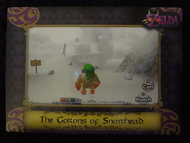 Gorons Of Snowhead Zelda Collectors Card 36
