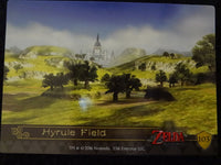 Hyrule Field Foil Puzzel Card Zelda Collectors Card 103