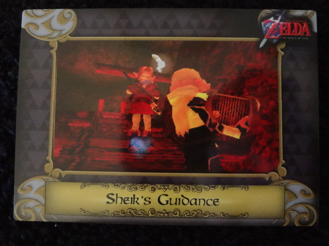 Sheik's Guidance Zelda Collectors Card 18