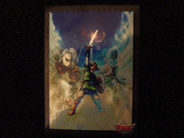 Legend Of Zelda Skyward Sword Zelda Collectors Card 68