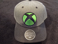 xBox 3D Embroidered Charcoal Snap Back Hat