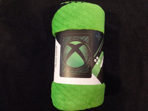 xBox Logo Plush Fleece Throw