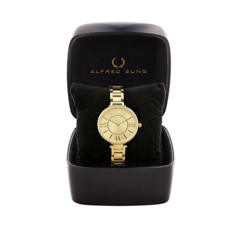 LADIES IPG CASE CHAMPAGNE DIAL