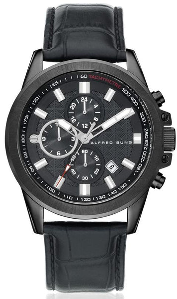 MENS STRAP MF IP BLACK DIAL