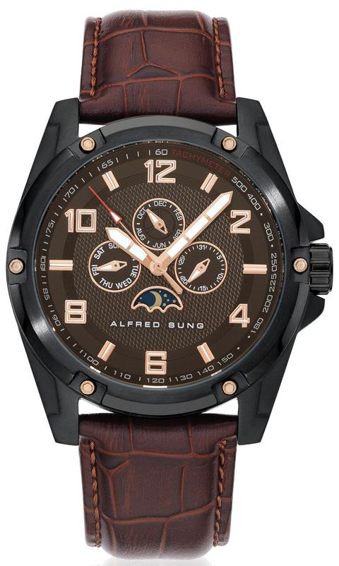 MENS STRAP MF IPB, BROWN DIAL STRAP