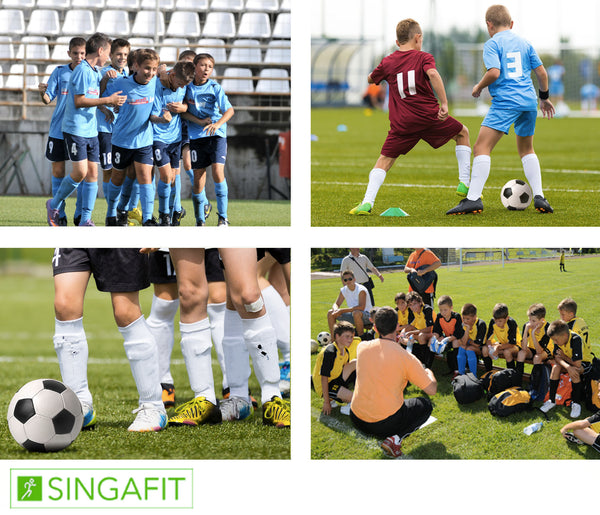 Football training camps - 7 to 12 y.o - Oct 29th to Nov 1st - Kovan