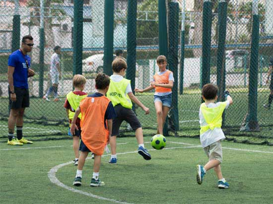 Football training camps - 7 to 12 y.o - Aug 27th to 30th - Punggol