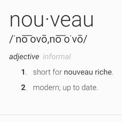 Nouevo meaning