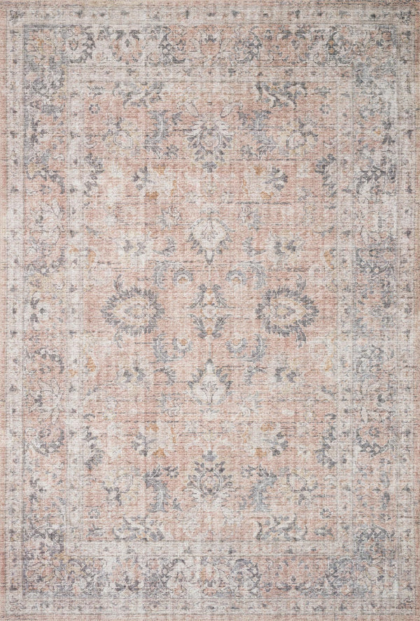 Skye Blush/Grey Rug