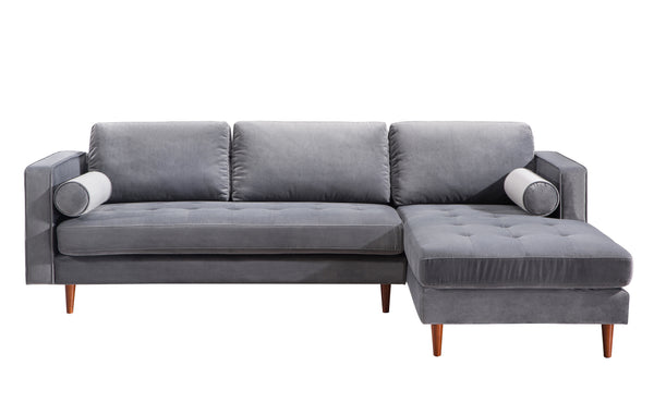 Velvet Sectional Seating